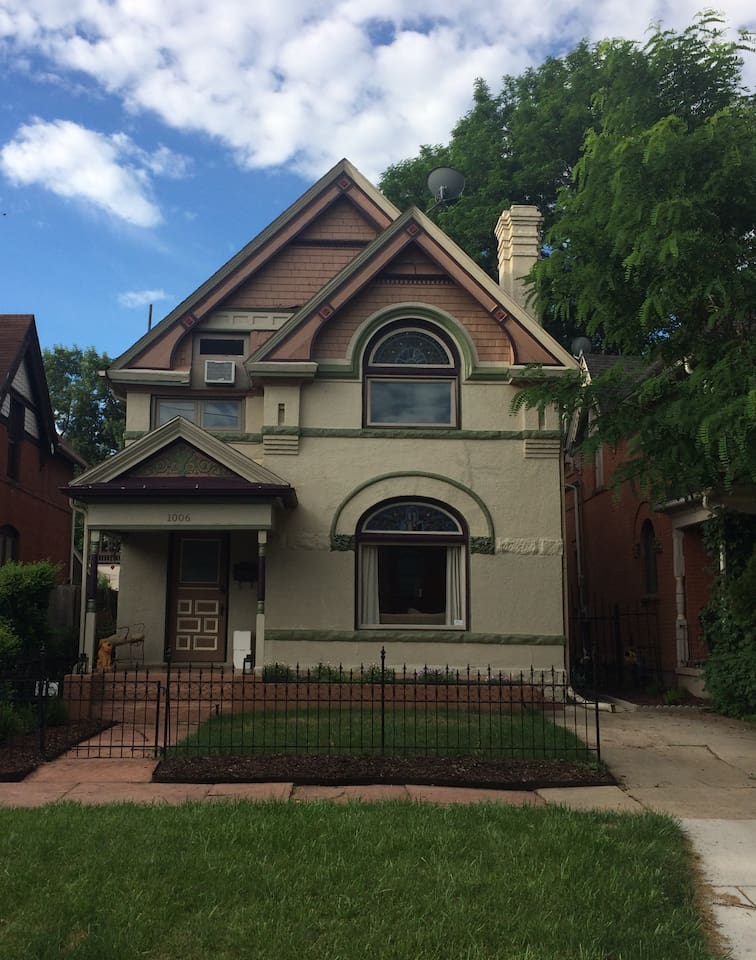 1889 Victorian home in the City Park West neighborhood of Denver.