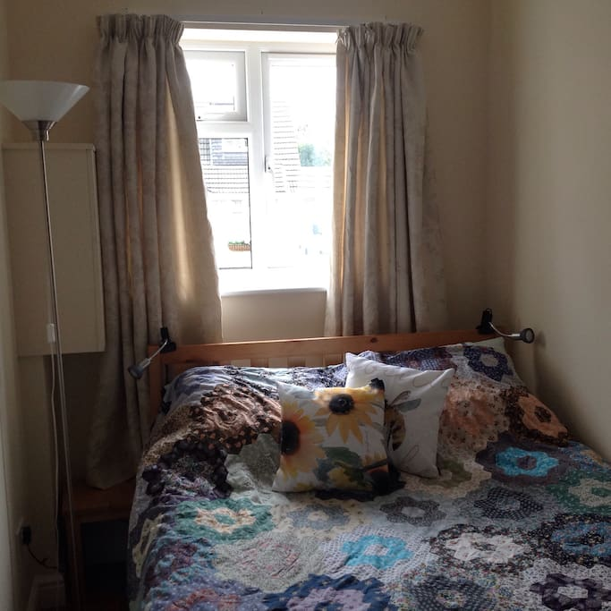 The bedroom has an Ensuite shower room and a very comfortable double bed.