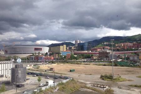 Habitación o piso frente a la Ría - Bilbao - Apartment