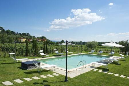 Farmhouse , pool, 13 px. Lucca 10km - San Ginese di Compito - 一軒家