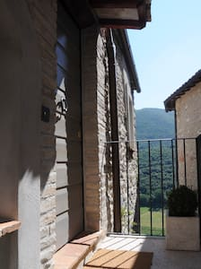 "Holiday apartment ""Porta Romana"" - Casperia - Huoneisto"