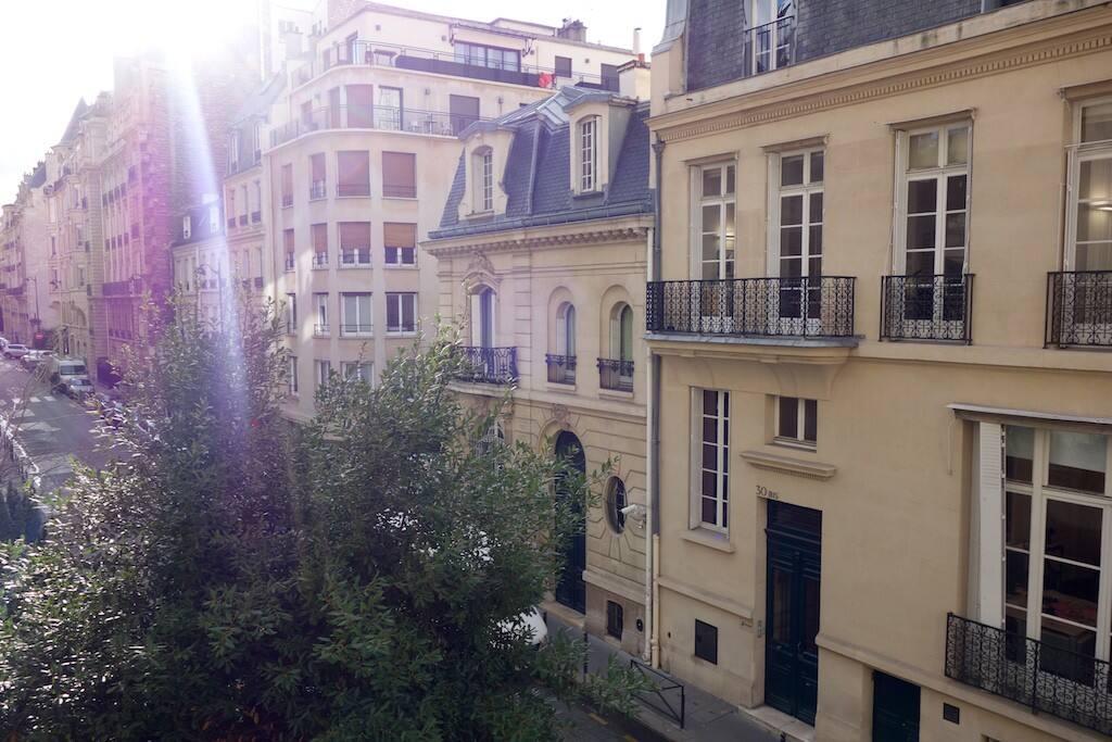 Rue résidentielle calme