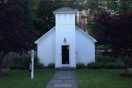 Old church with pool and hot tub - Accord