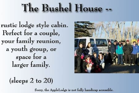 Rustic Cabin for 2 to 20 people - Del Norte