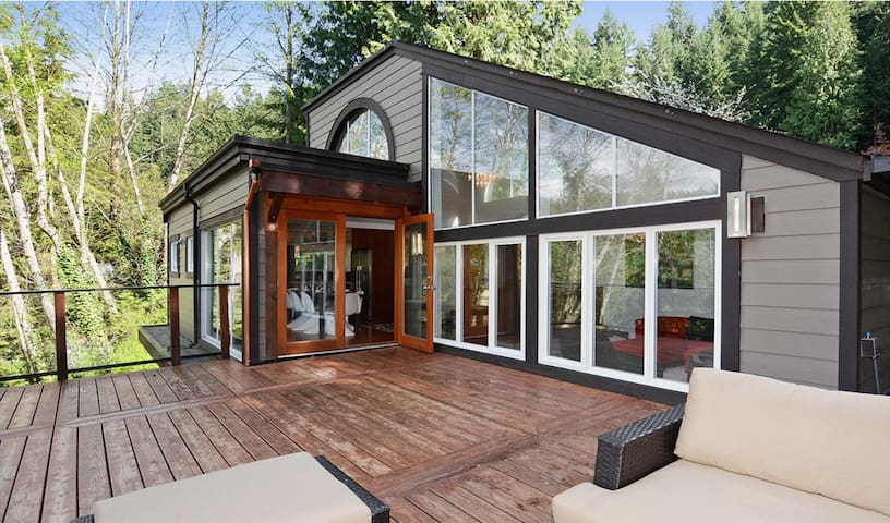 Luxury Treehouse Escape - North Vancouver - Rumah