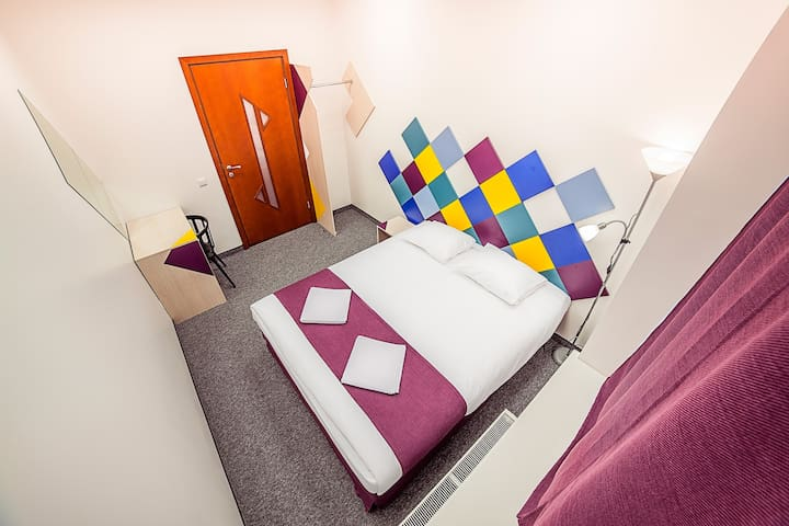 Chambre fraîche dans le centre - Riga - Bed & Breakfast