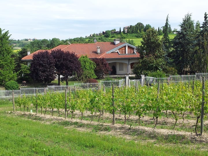 Independent apartment in Monferrato