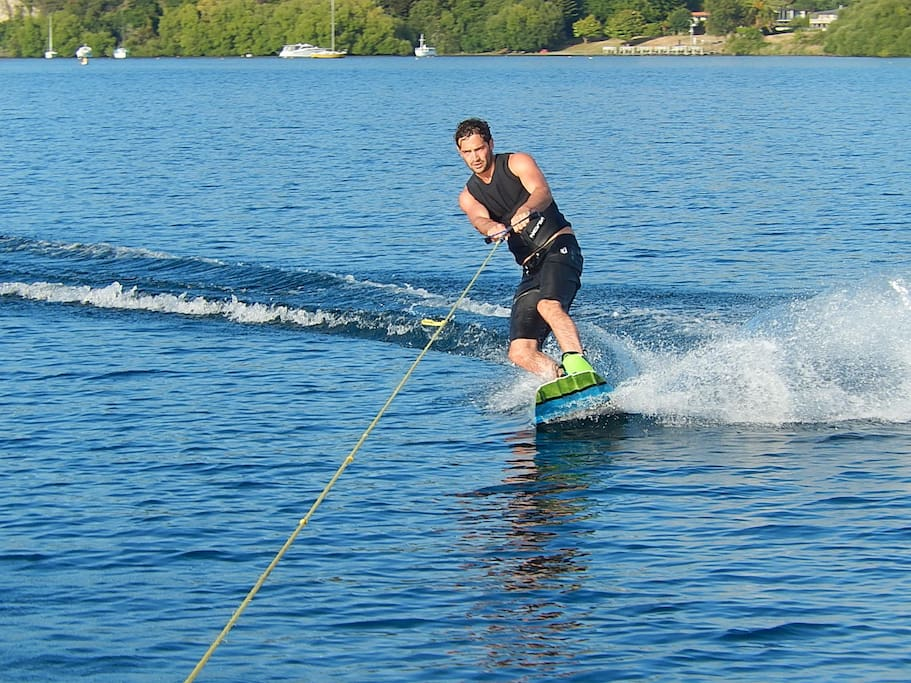 Water sports right on your doorstep