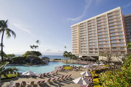 Kaanapali Beach OCEAN VIEW Luxury Condo, Sleeps 4+