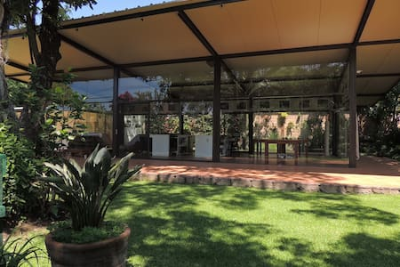 Lovely garden house in Malinalco