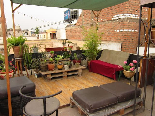 artistic rooftop in Lima - Lince - Apartment