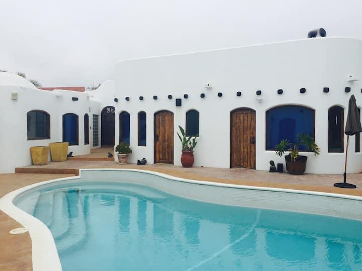 Casa las Mil Flores, beach - private pool-Jacuzzi