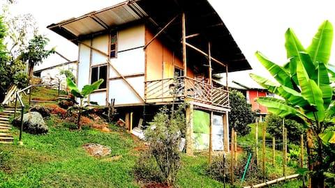 Cabaña Campestre  Montañas de Bitaco ( CASA VABEL)