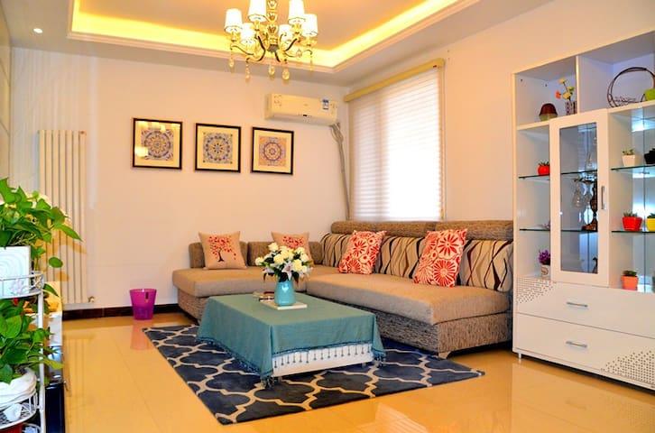 Zhengzhou郑州东区高铁站商务区(CBD)旁高档小区温馨两居室 - Zhengzhou - Casa