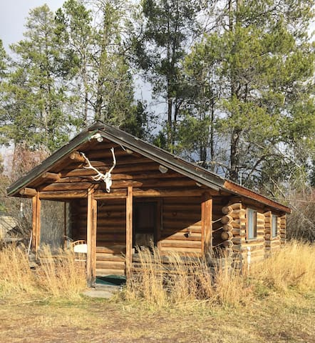 Budge Cabin on Secluded Guest Ranch. Fishing!