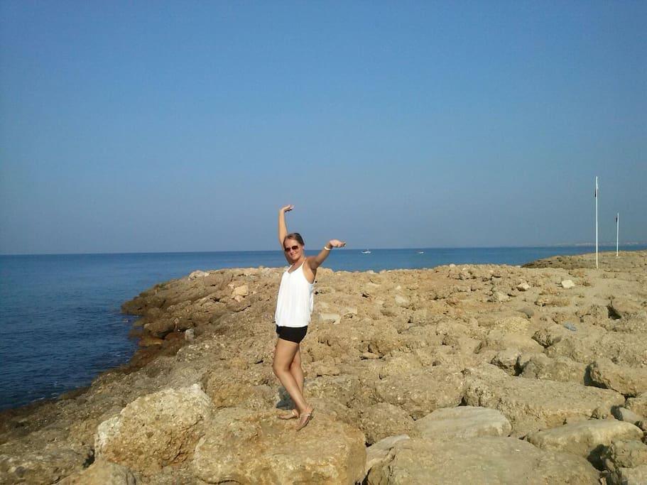 Ich im Urlaub :)