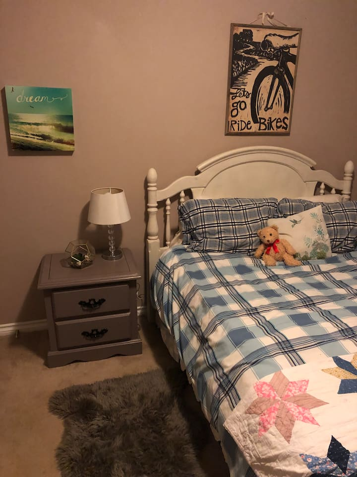 private bedroom in shared rancher