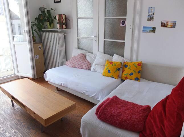 2 chambres à 5 min de la cathédrale - Strasbourg - Leilighet