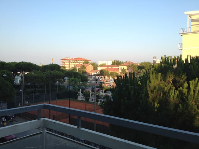 Spacious flat with sea view in MiMa - Milano Marittima - Apartamento