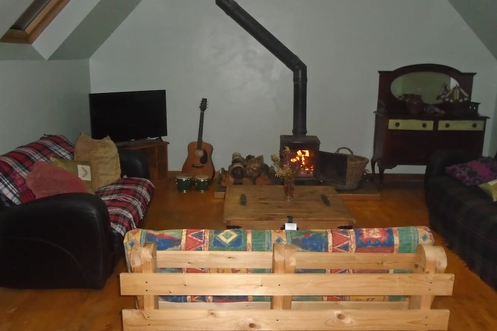 log burning stove perfect for the winter nights a warm highland welcome awaits