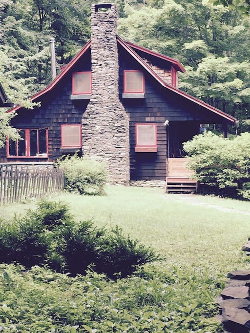 1895 shingle style cabin.