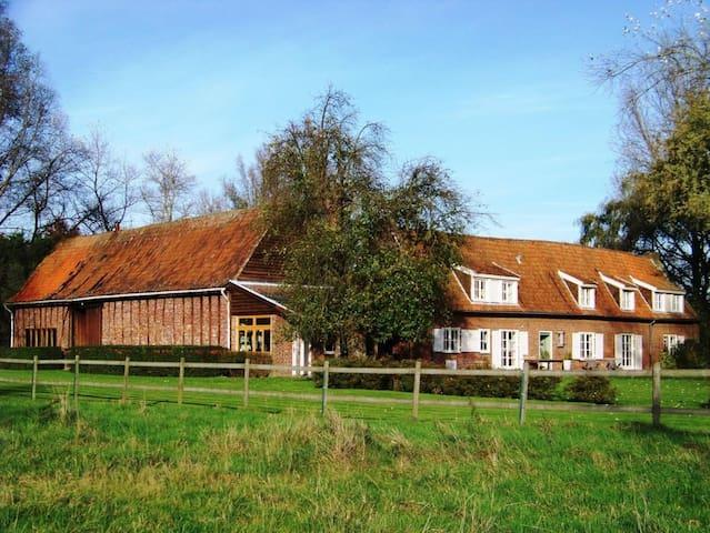 Gite la Métairie, ferme remarquable du 19° siècle - Cysoing - Maison