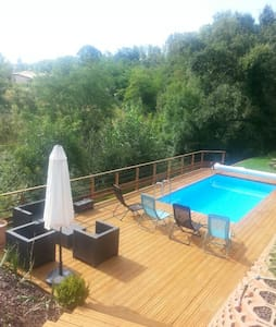 Charming house with swimming pool - Lévignac
