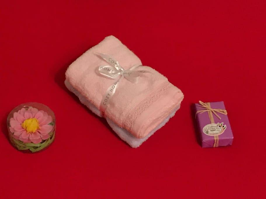 Мягкие банные полотенца