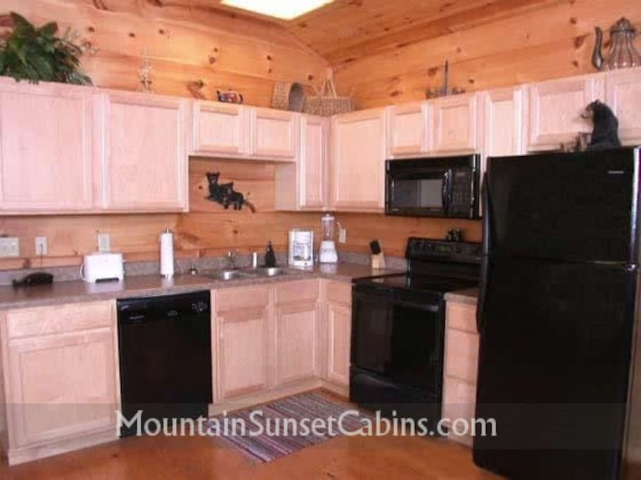 Fully-equipped kitchen for your convenience