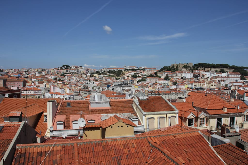 Awesome view! It's really one of Lisbon's best viewpoints.