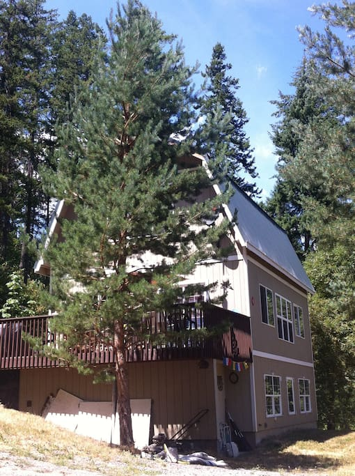 Mountain cabin 7 5 miles from leavenworth cabins for for Washington state cabins for rent