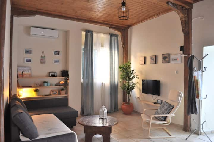 loft studio apartment at the heart of Lefkada Town