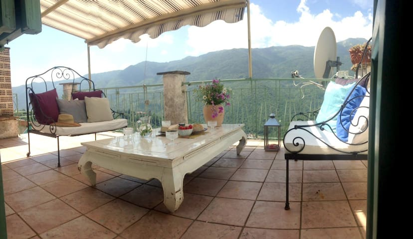 Casa Panoramica - Village House with Amazing View