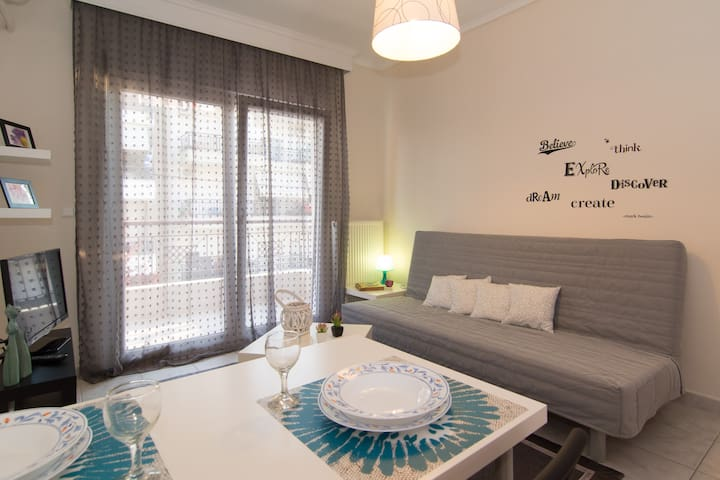 SWEET HOME for 4 guests - Nei Epivates - Appartement