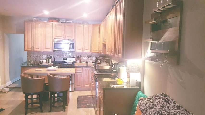 Large shared kitchen