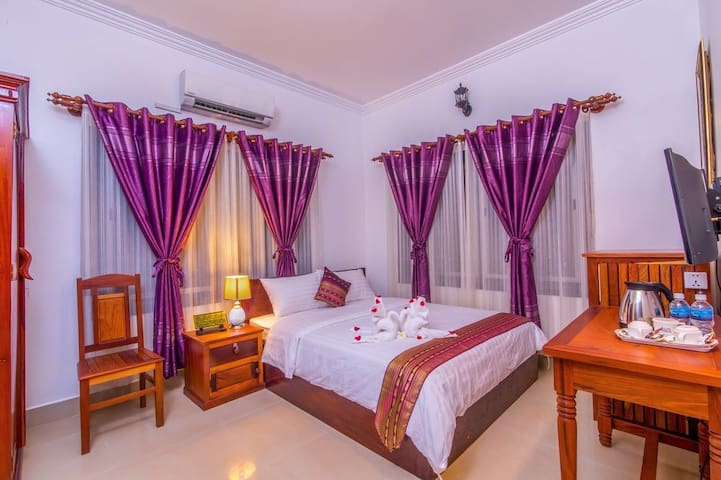 Aster Villa,Private room,Double bed ,pickup,bikes
