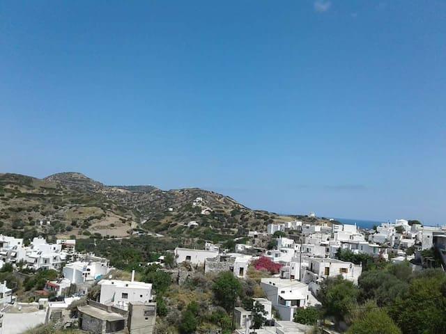 Panoramic vie apartment in Skyros Village