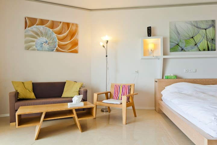 Luxury sea view beach apt w balcony - Herzliya - Lägenhet