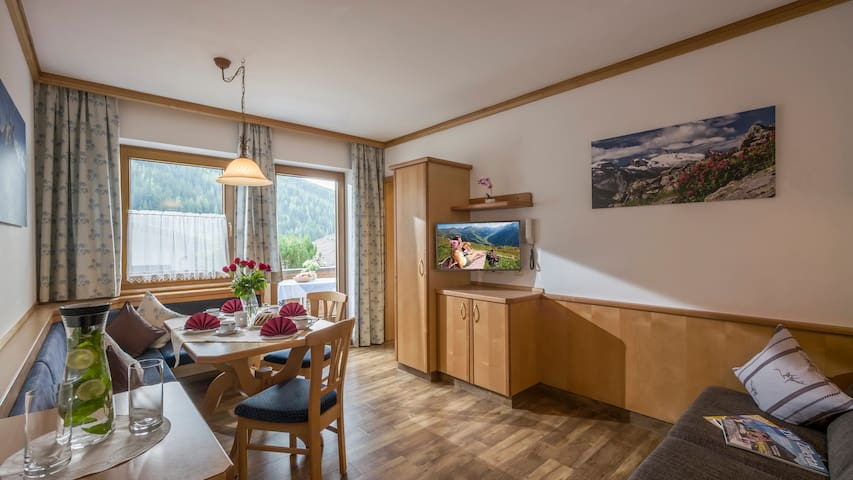 Apartment with 2 bedrooms and balcony in Tux