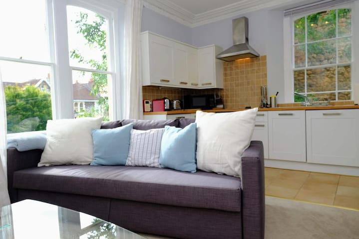 Lovely 1 bed Apt in Beautiful Period Building