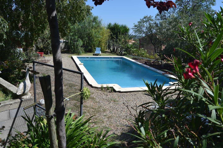 piscine 5x11 ml sécurisée