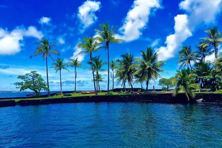 Ocean Views - Champagne Warm Ponds - Tide Pools - Pāhoa