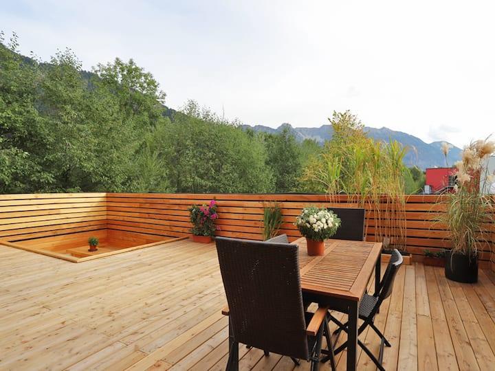 Paradies in den Bergen nahe Garmisch Partenkirchen