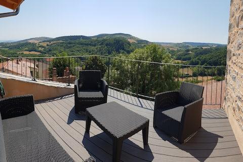 Maison de bourg design au coeur de l'Auvergne