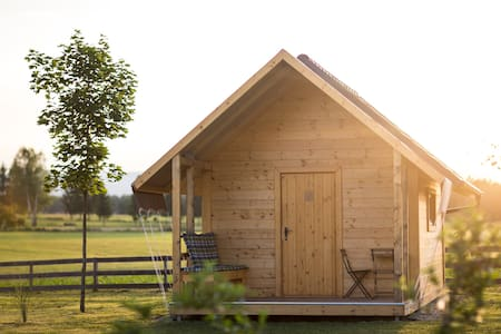 Glamping in Slovenia countryside