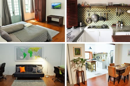 Spacious heritage apartment in the heart of Jogja