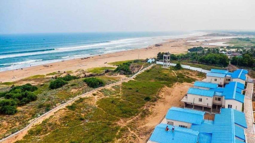 Cool beach-River bank-Best Sun rise