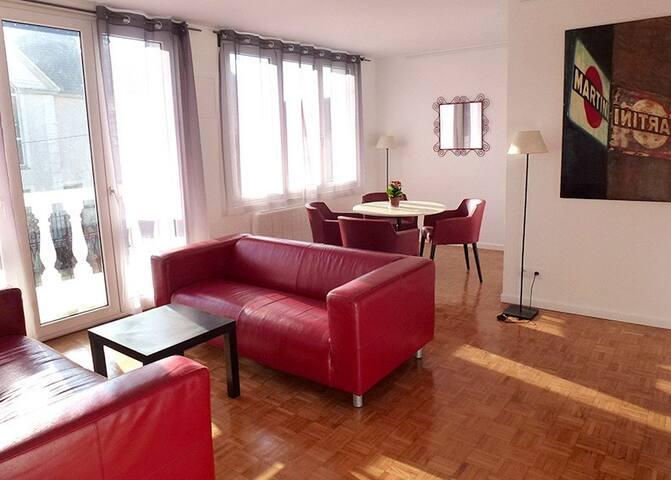 Proche de Paris, au calme, avec terrasse... - Argenteuil - Apartamento