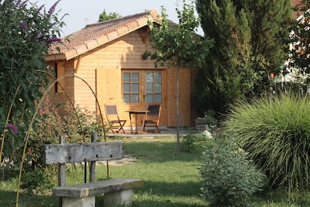 "petit chalet en bois ""la grenette"" - Saint-Paul-lès-Romans - Chatka w górach"