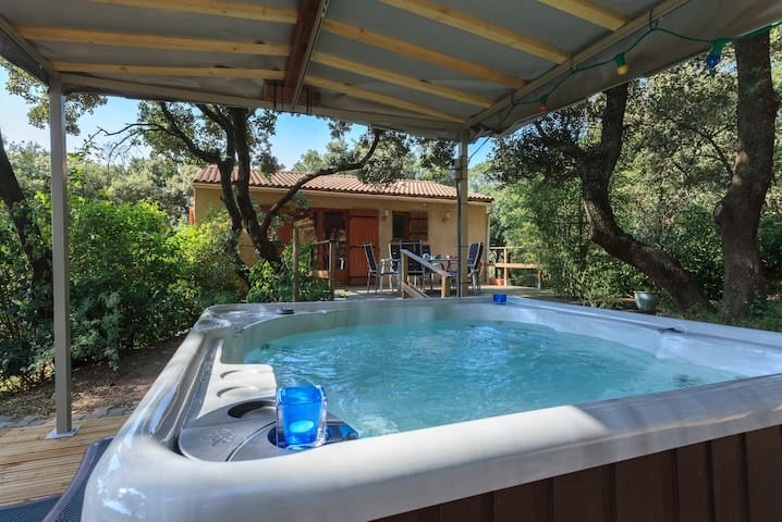 Cabin garden and spa en Provence